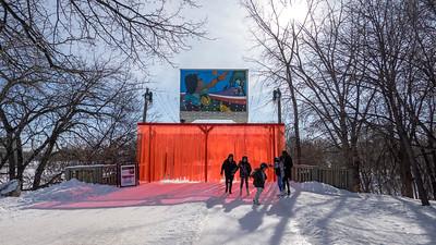Skating at the Forks - Feb 2020
