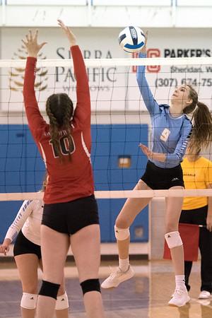 Sheridan College Volleyball vs. NorthWestern College (10-03-19)
