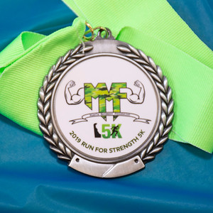 Muscle Movement Foundation Run for Strength 5K - 2019 Pre and Post Photos
