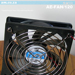 SKU: AE-FAN/120, 220V-20W 120mm General Purpose AC Axial Fan for Ventilation and Extraction