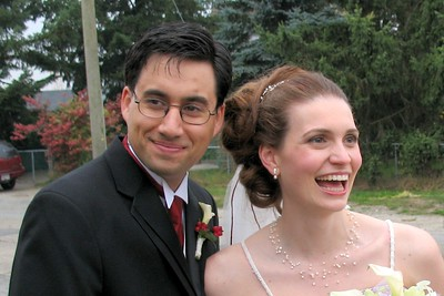 Brian and Meg Fall 2007