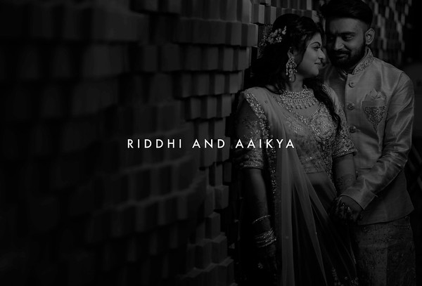 Riddhi and Aaikya | April  2019
