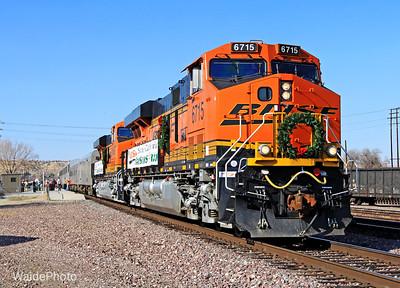 BNSF Christmas Train 2011