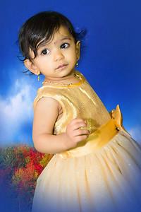 Happy 1st Birthday Amulya