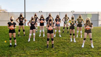 Rockford Freshman Volleyball 2020