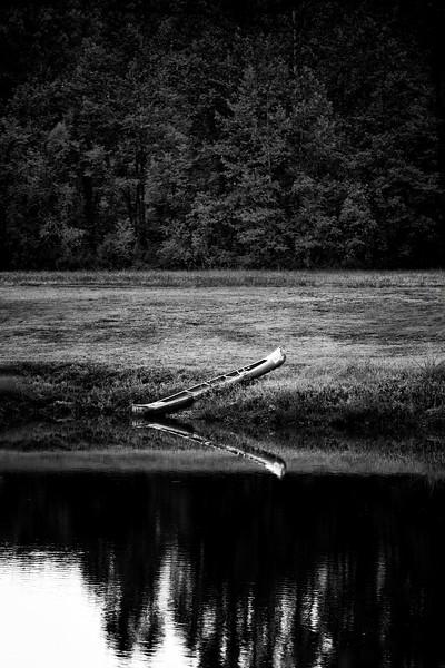 Banked Canoe