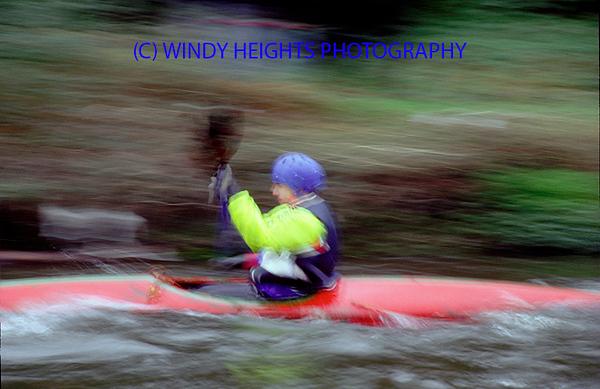 Kayaking Bandon River