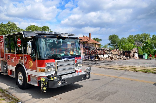 "Dolton, Illinois 2nd Alarm "" ruins"" 14057 Lincoln Ave.  8/30/2020"