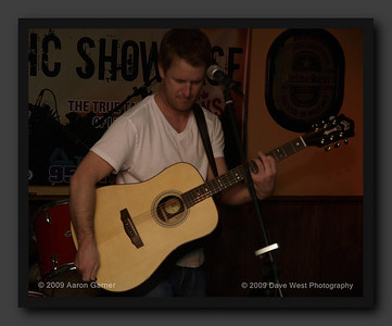Aaron Garner at the 10th Annual Collingwood Music Showcase