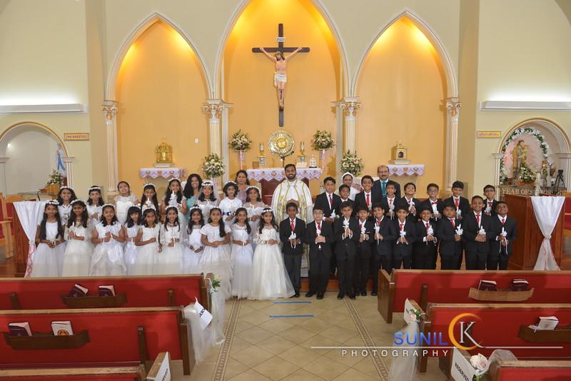 St Joseph's Holy Communion June 2021