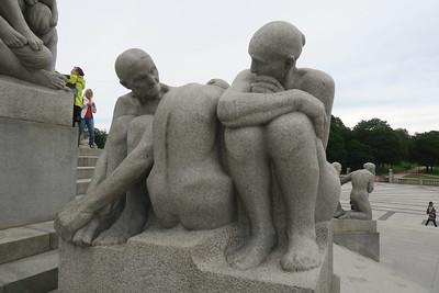 Oslo Vigeland Park - Granite Sculptures 1