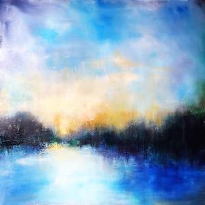 """Dawn"" (acrylic) by Lindalee Holnes"