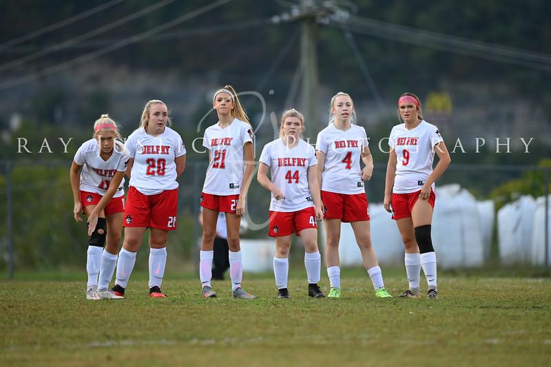 10/12/2021 BHS Girls Soccer vs Prestonsburg Regional Game 1