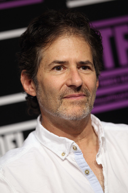 ". Composer James Horner speaks during the ""Black Gold\"" press junket at the Press Centre during day 1 of the 2011 Doha Tribeca Film Festival on October 25, 2011 in Doha, Qatar.  (Photo by Sean Gallup/Getty Images for Doha Film Institute)"