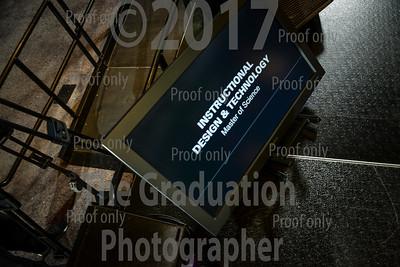 Ceremony One Grads Walking June 30th, 2017
