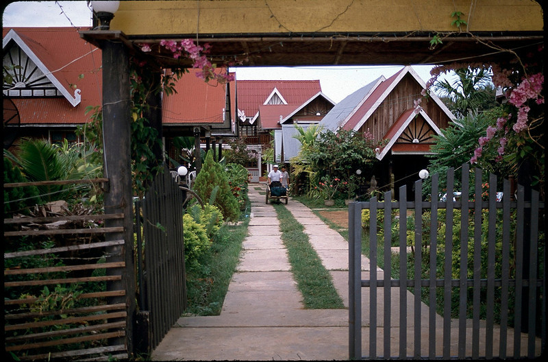 our lodging Villa Muang Khong in the Khong Islands