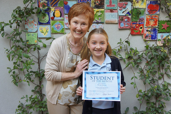 Students of the Month March 2