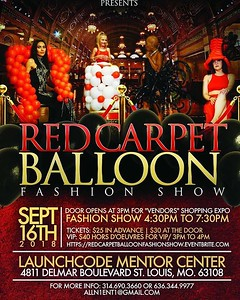 Walk This Way Magazine Presents: The Red Carpet Balloon Fashion Show 2018