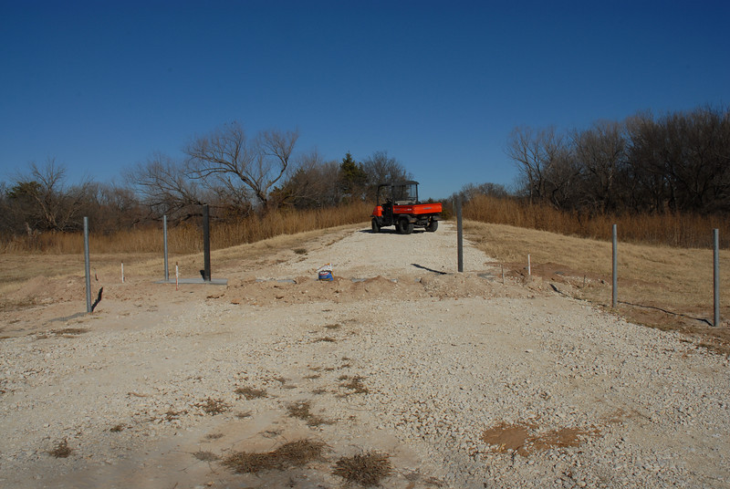 Construction of ranch gate
