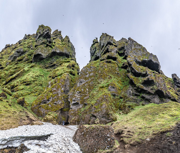 Mountain Peaks in Iceland  Photography by Wayne Heim