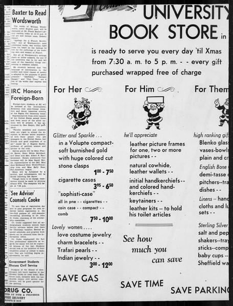 Daily Trojan, Vol. 34, No. 59, December 14, 1942