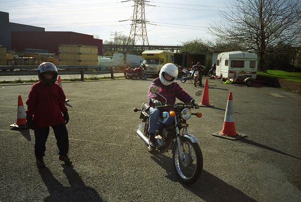 2000 Scouts on MotorBikes