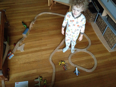Wooden Train Track Layouts