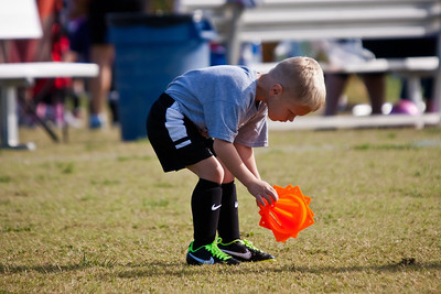 Grant's 3 year old soccer