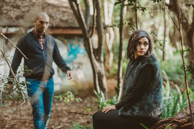 Tracey and Leoard engagement shoot at Newlands forest