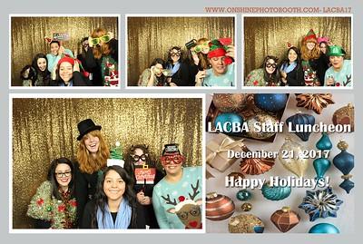 LACBA Staff Luncheon 2017