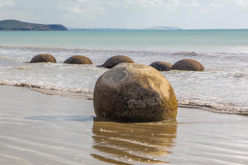 Moeraki Beach Boulders