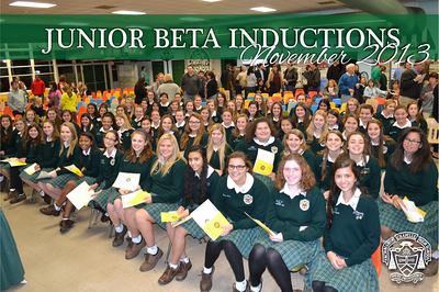 Junior Beta Inductions