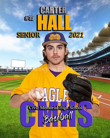 2021 CMHS Senior Baseball Players