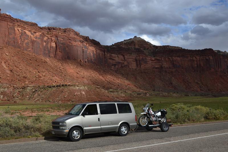 Canyonlands National Park, near Newspaper Rock. 2013
