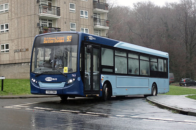 25. 63 Reg Buses around the UK