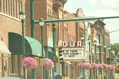 ON THE ROAD:  Winterset, Iowa