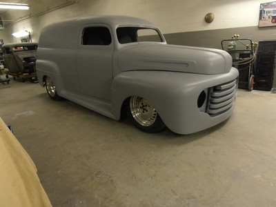 "1950 Ford Panel ""Custom"" Project-Tim Shannon"