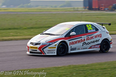 BTCC - Thruxton - April 2011