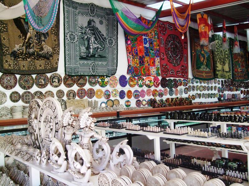 Chichen Itza - 20 Souvenir shop