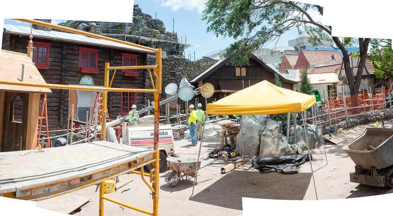 Norway Construction 2016 - Epcot Walt Disney World