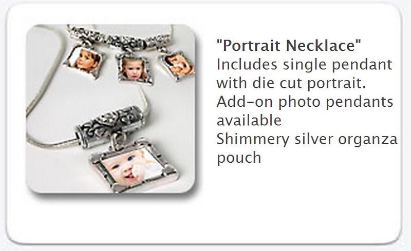 Portrait Necklace -   $35