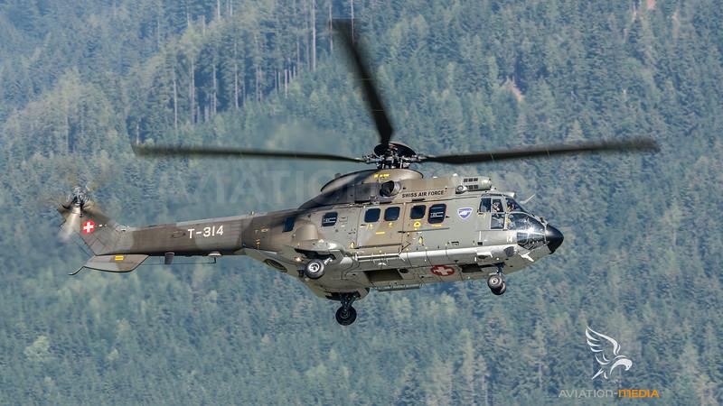 Swiss Air Force / Aerospatiale AS 332M-1 Super Puma / T-314