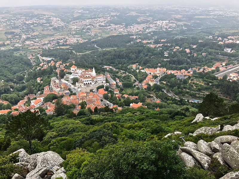 View from the castle in Sintra