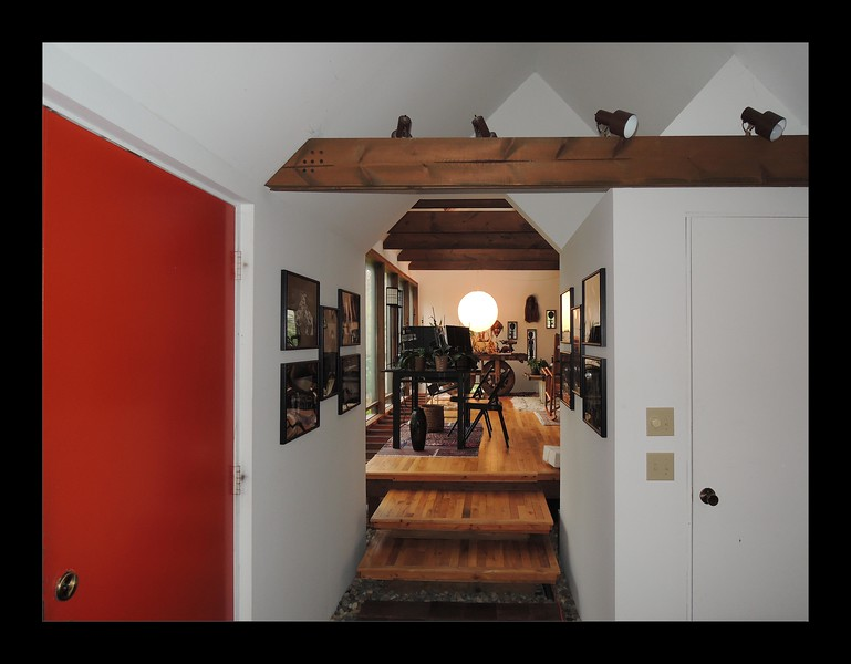 13. Entry Door and Floating Platform Steps into Studio.JPG
