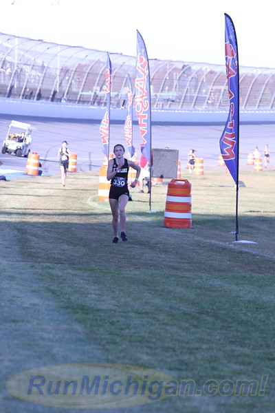 D4 Girls' Finish Section 2 Gallery 2 - 2020 MHSAA LP XC