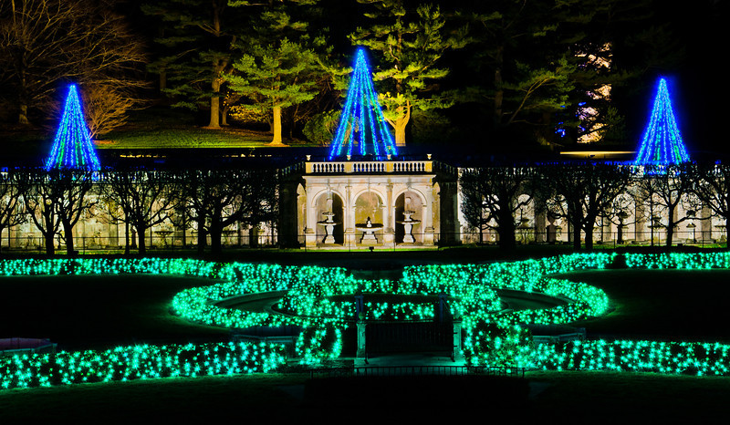 Christmas Display, Longwood Gardens, Kennett Square, Pennsylvania
