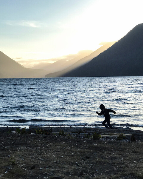 On the Road: Forks, Joyce, Cape Flattery and Lake Crescent