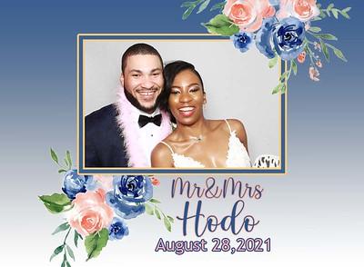 Mr & Mrs Hodo 2021