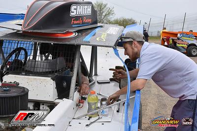 Grandview Speedway - 5/5/18 - Steve Sabo (SDS)