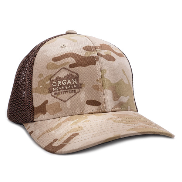 Organ Mountain Outfitters - Outdoor Apparel - Hat - Retro Trucker Cap - Multicam Brown.jpg